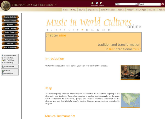 Music in World Cultures Online