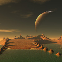 Science Fiction Photo - Landscape